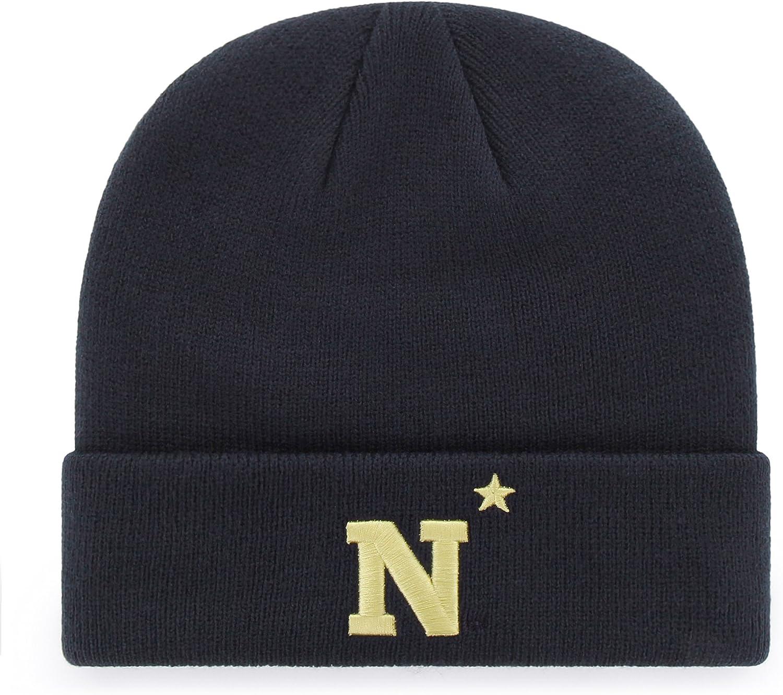 OTS NCAA Mens Raised Cuff Knit Cap
