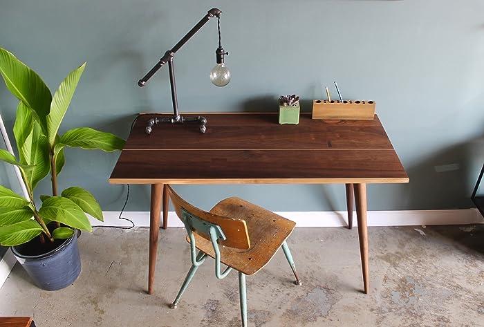 Merveilleux Home Office Desk, Ready To Ship, Modern Desk, Walnut Office Desk, Writing