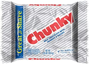 Chunky Giant Milk Chocolate Candy Bar, Bulk Individually Wrapped Ferrero Candy, 4.25-Ounce Packages (Pack of 24)