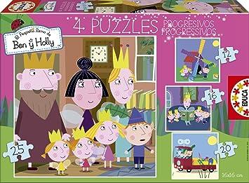 Amazon.com: Ben & Holly – Puzzle progresivo: Toys & Games