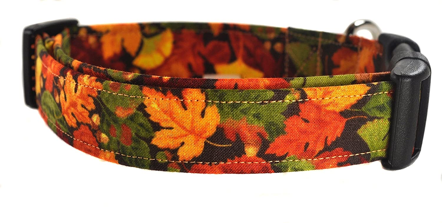 Fall Dog Collar - The Fall Leaves