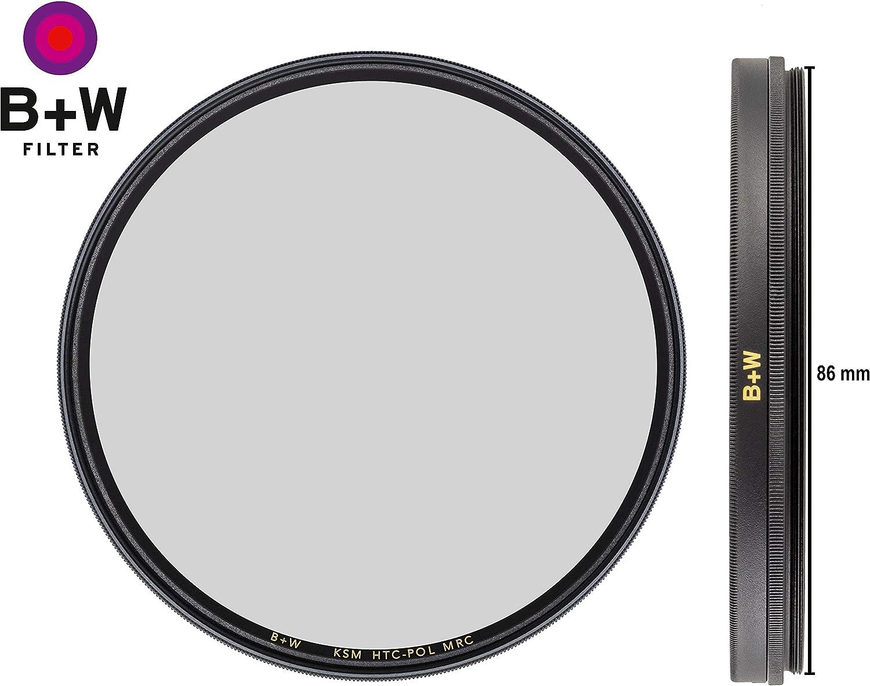 W Circular Polarizer Kaesemann Photography Filter 16 Layers Multi-Resistant and Nano Coating XS-PRO Xtra Slim Mount B 58 mm HTC