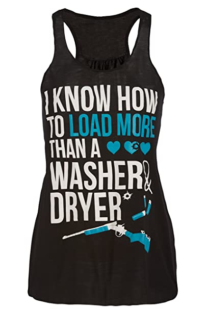 4b33e45690 Amazon.com  Cute n  Country Tank Top  I Know How to Load More Than A ...
