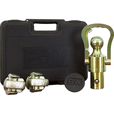 TruckProUSA B&W OEM Puck System Gooseneck Ball & Safety Chain Kit for Ram Pickups: Automotive