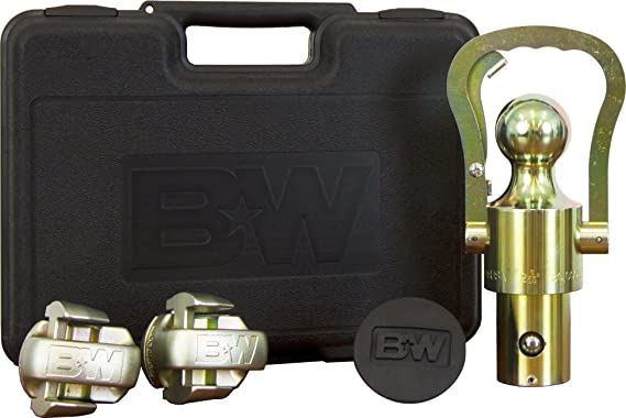 B&W Trailer Hitches B&W GNXA2061 OEM Puck System Gooseneck Ball & Safety Chain Kit for GM