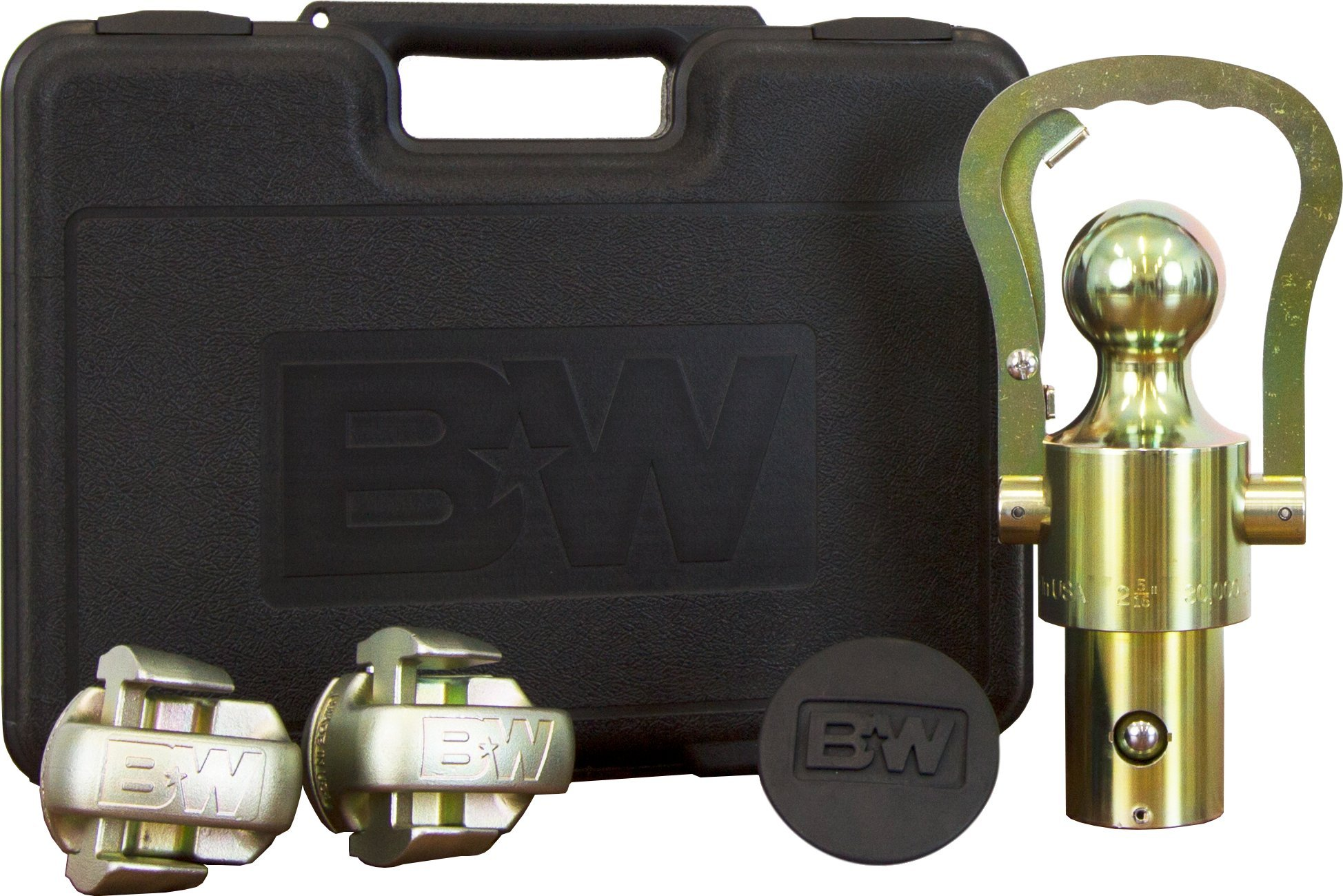 B&W Trailer Hitches B&W GNXA2061 OEM Puck System Gooseneck Ball & Safety Chain Kit for GM, Ford, Nissan by B&W Trailer Hitches