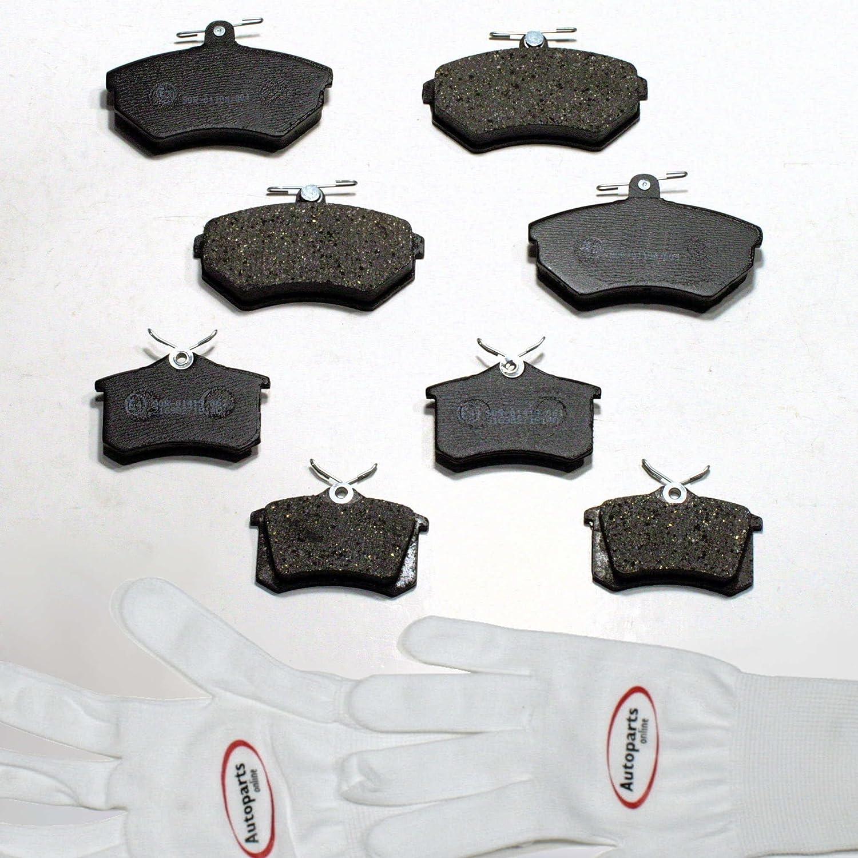 hinten Autoparts-Online Set 60004008 Bremsbel/äge//Bremskl/ötze vorne