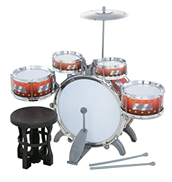 Jazz Drum Set With Chair
