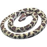 Wild Republic 53114 Python Rock Rubber Snake, Brown/Beige, 66 cm