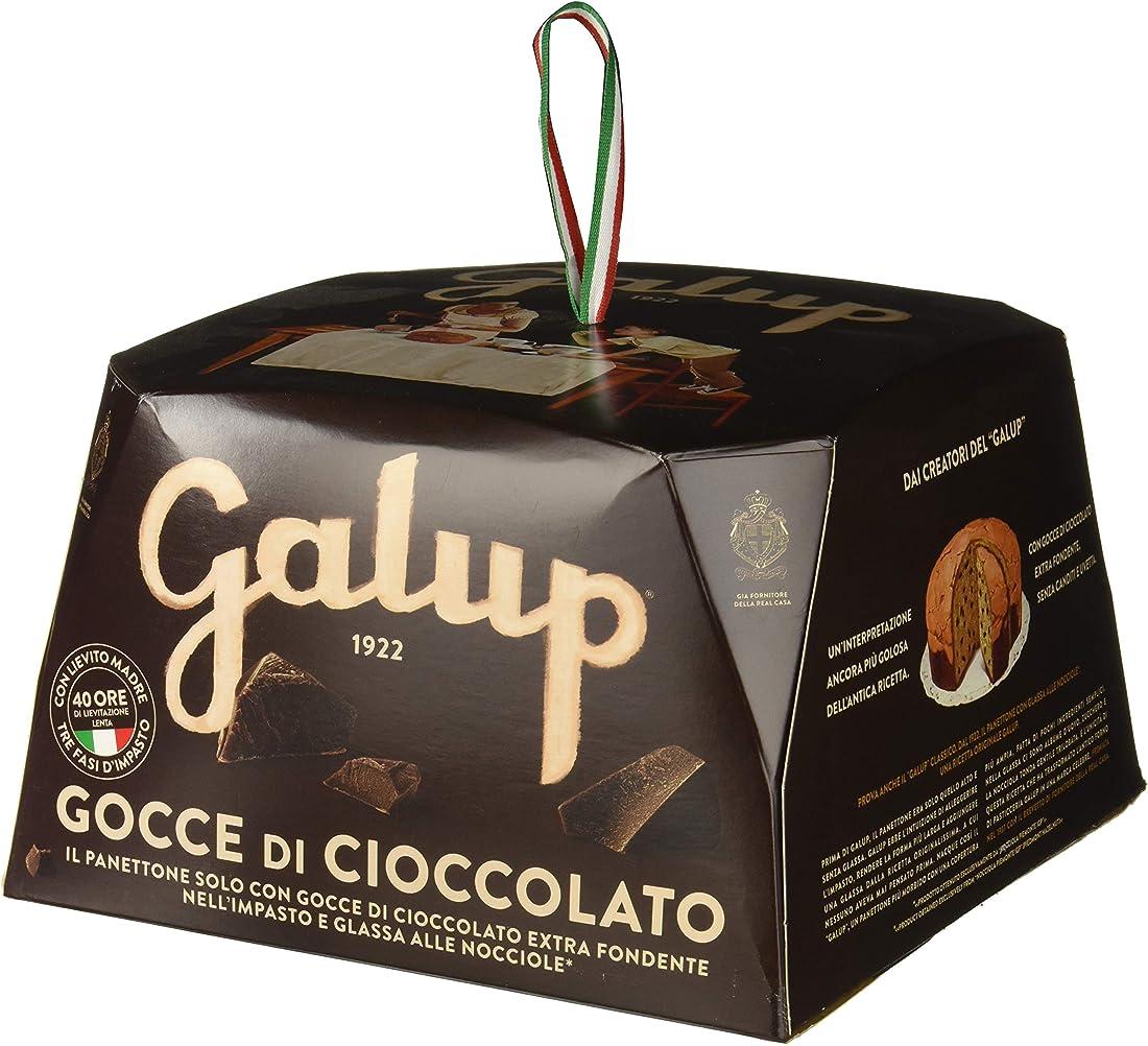 Panettone gocce cioccolato, 750 gr galup nv07 B016K7DX5U