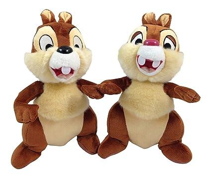 amazon com chip dale plush 9 by disney toys games