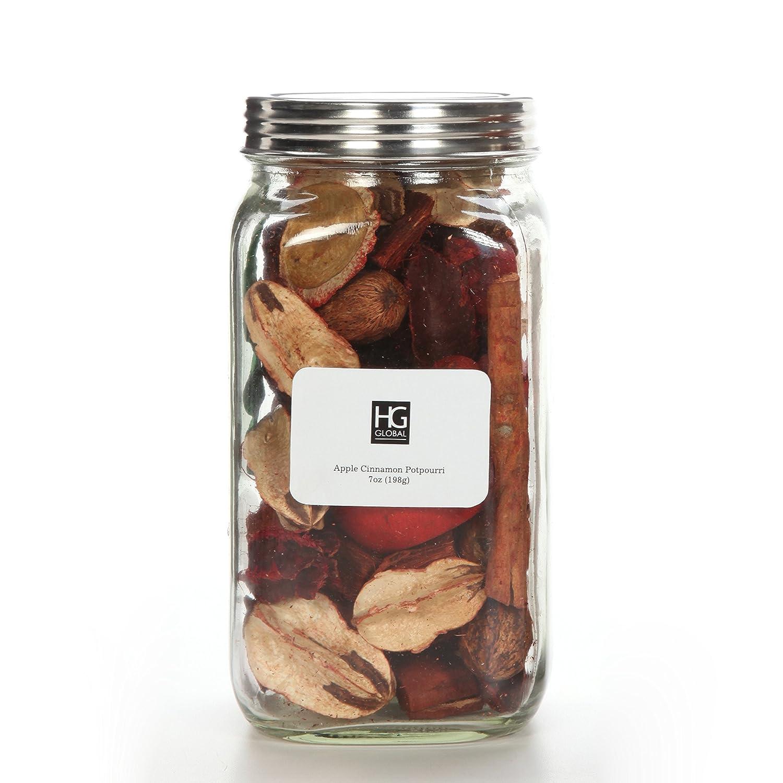 Hosley 's Mason Jar Apple Cinnamon Dried potpourri- 7oz。Perfectの結婚や特別な機会;毎日の使用、結婚式、イベント、アロマセラピー、Spa、瞑想p2 B078JCDK36