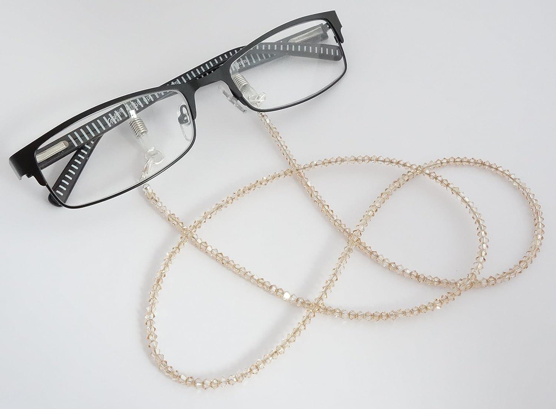 Sangle Goggle / chaîne lunettes avec des éléments Swarovski BS ...