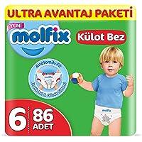 Molfix Külot Bebek Bezi, X-Large 6 Beden, Ultra Avantaj Paketi 86 Adet