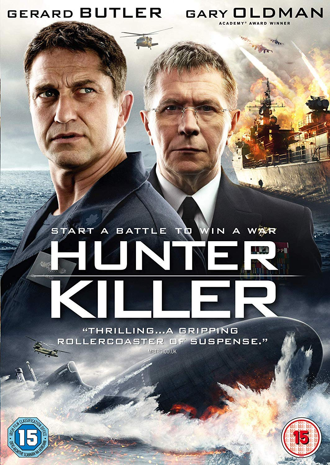 Hunter KillerHunter Killer (2018) 720p BluRay Dual-Audio [Hindi + English] x264 ESub