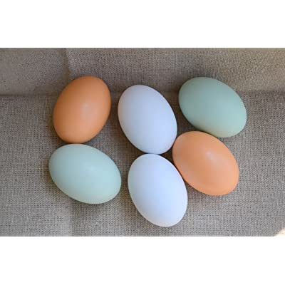 MasterPro Wooden Fake Eggs-6 pieces by MasterPro