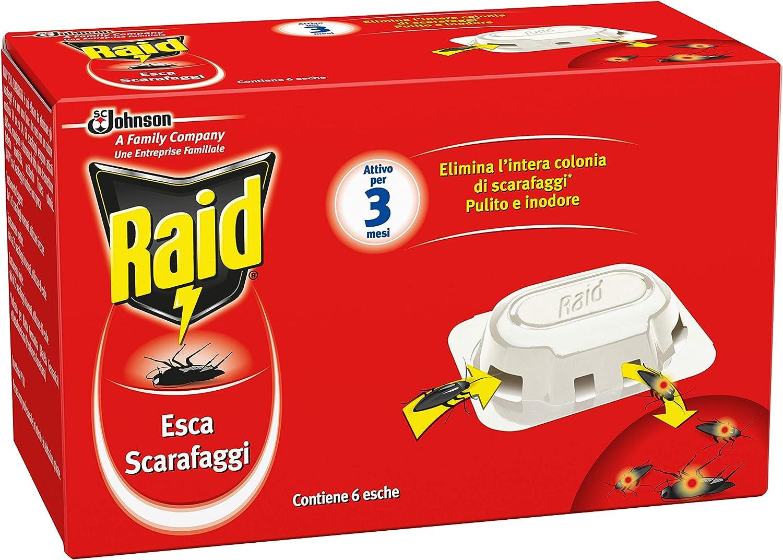 Raid Cebo para cucarachas–6piezas