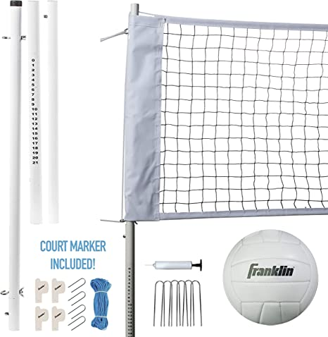 Franklin Sports - Red de voleibol y pelota (incluye 1 red con ...