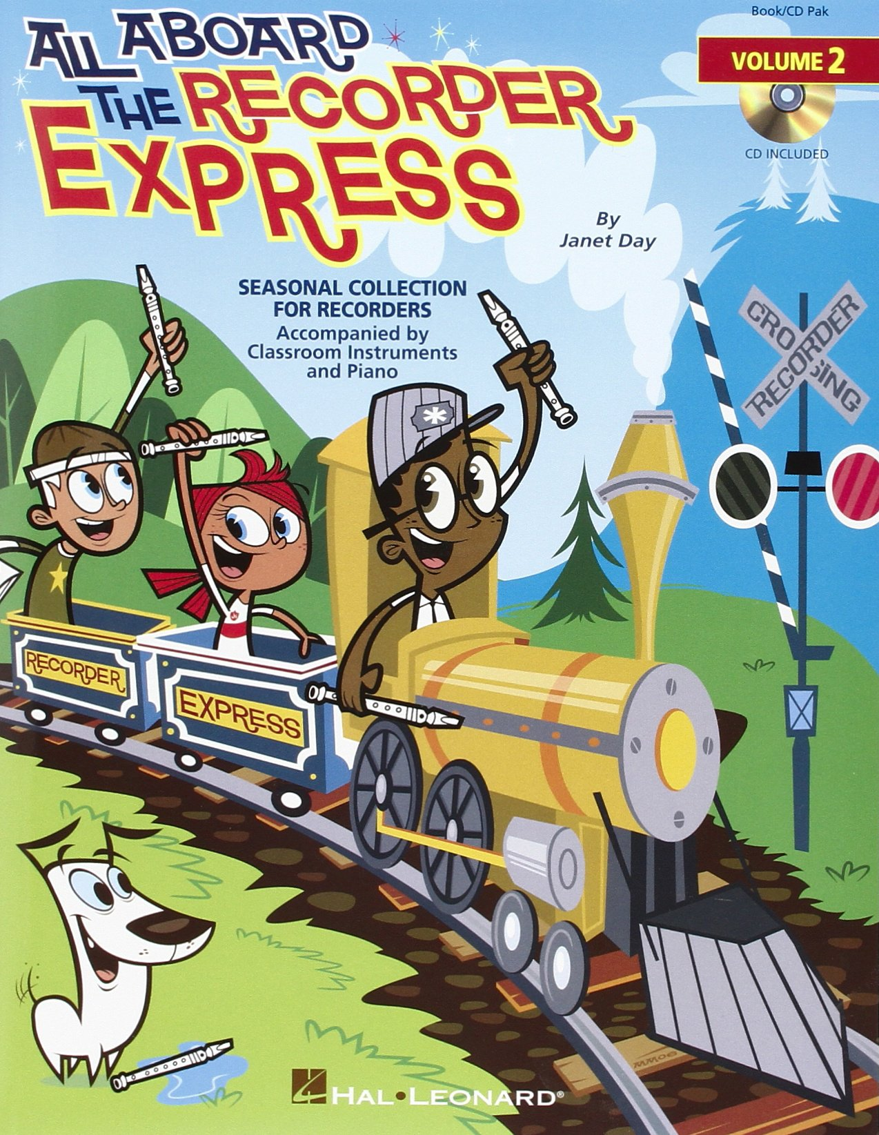 All Aboard the Recorder Express: v. 2