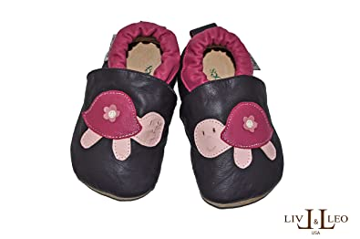 f5c295142ccc7 Tipsie Toes Baby's Soft Sole Genuine Leather Shoes - Different ...