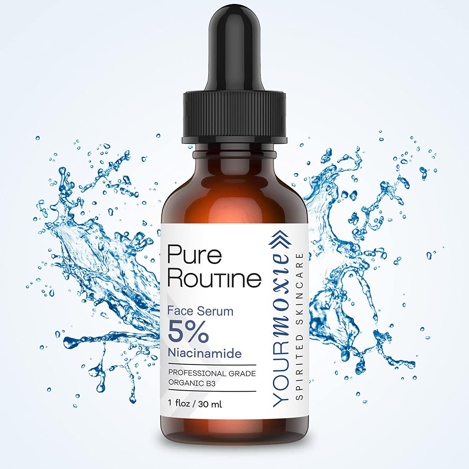 Natural And Organic Niacinamide Face Serum Vitamin B3 Make Over Hydration 5 Hydrating That Builds Collagen For Anti Aging Great Wrinkle Reducer Acne