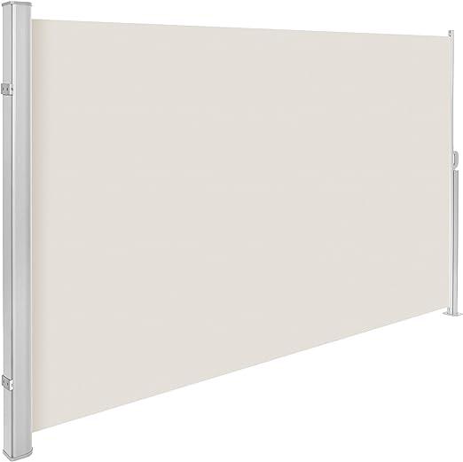 TecTake Toldo Lateral de Aluminio Separador retráctil terraza ...