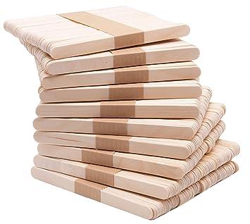 Zollner24 500 palos de madera para helados y manualidades ...