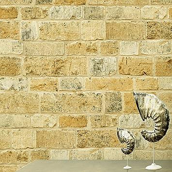 birwall 6022 Faux rustikalen Stein Stein Tapete Wand Papier für ...