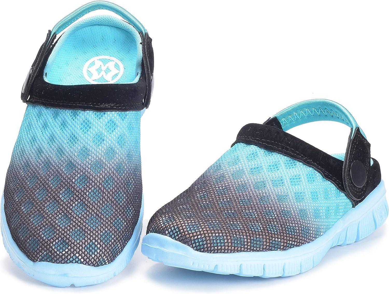 KVbabby Unisex Kids Mesh Slipper Sandals Summer Breathable Clogs Garden Holiday Slip On Shoes Shower Beach Mule Sandal