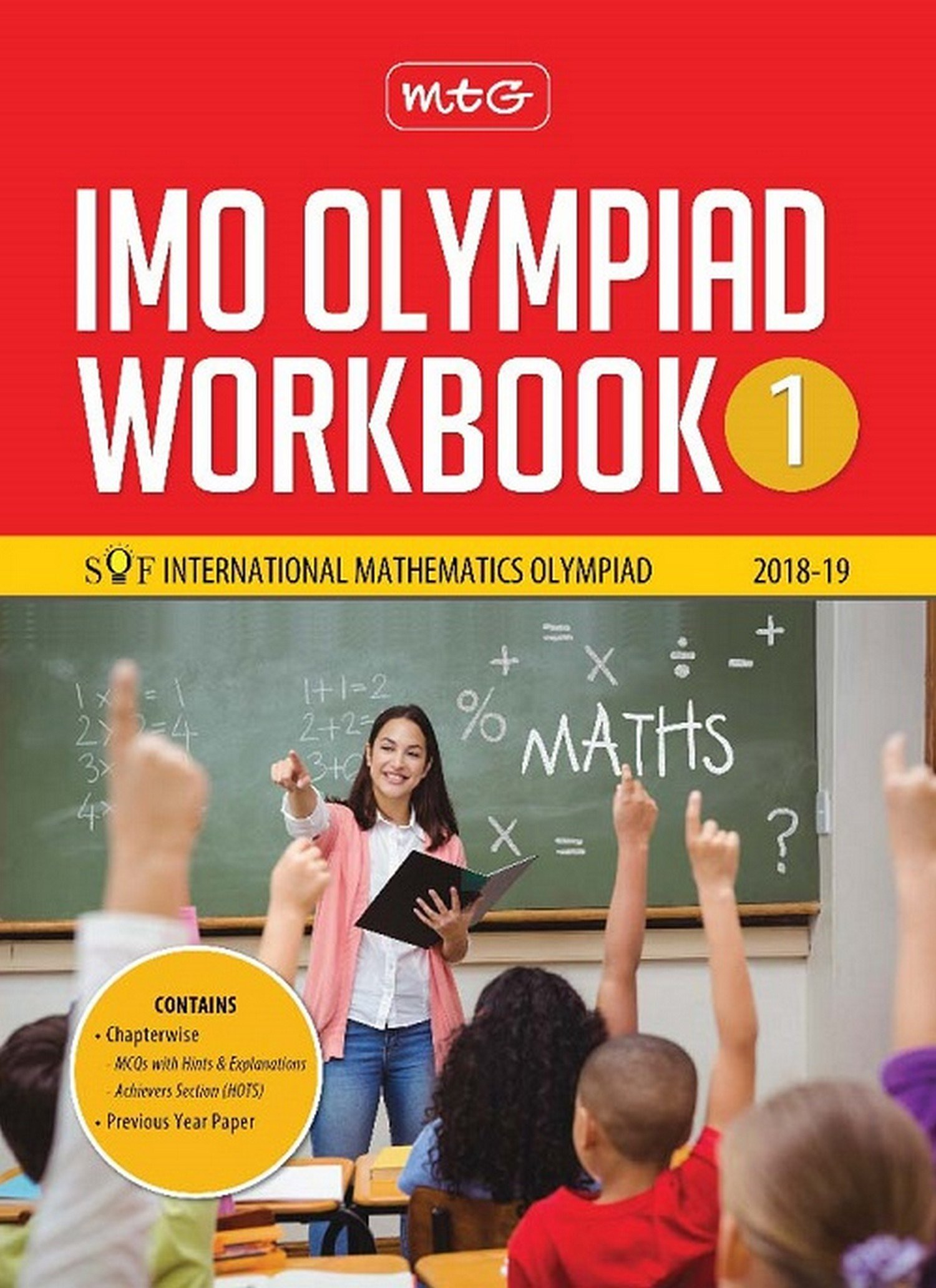 Buy International Mathematics Olympiad Work Book (IMO) - Class 1 for