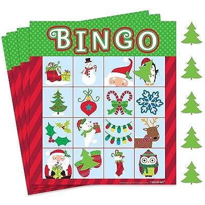 Fun Christmas Bingo Game | Party Favor: Toys & Games