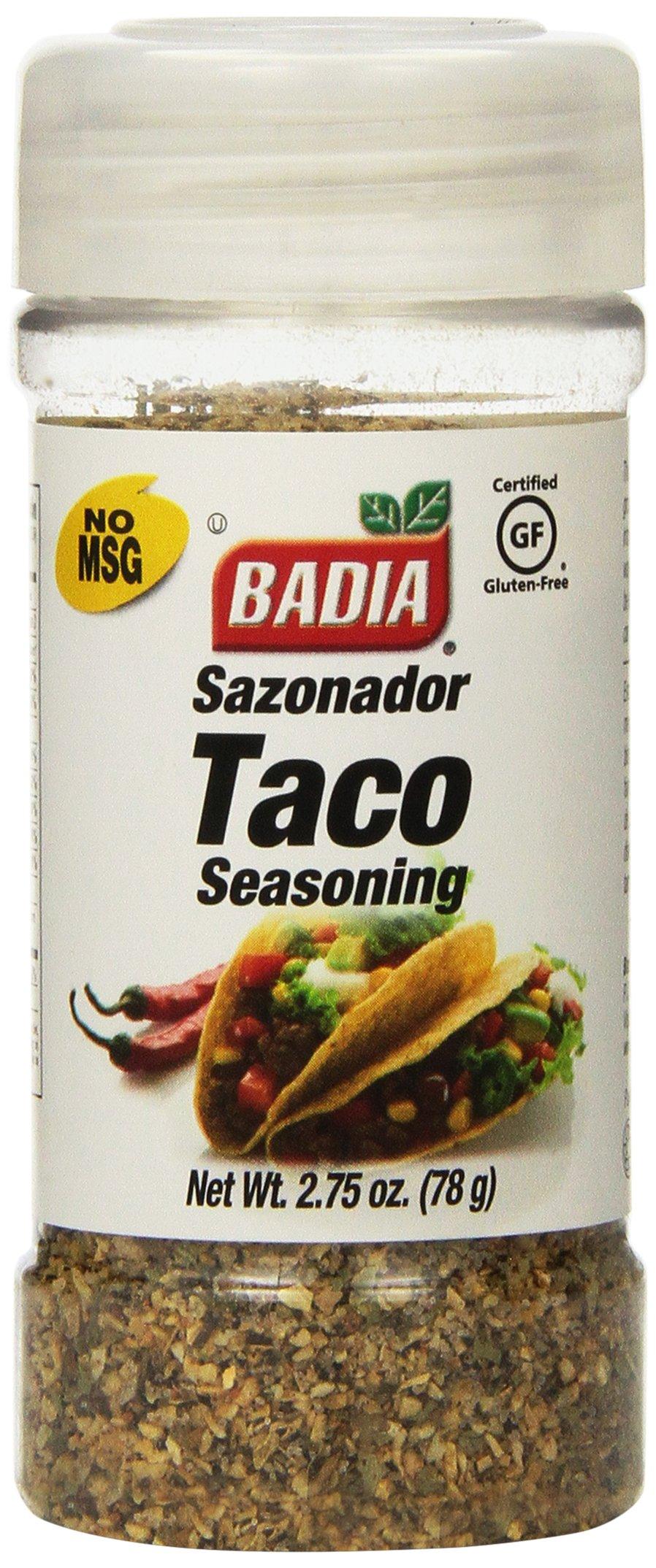 Taco Seasoning 2.75 Ounces (Case of 12)