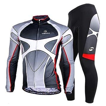 Amazon.com: sponeed Hombres de Ciclismo Bicicleta Jersey ...