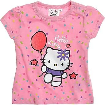 Hello Kitty Babies Camiseta manga corta - fucsia - 24M: Amazon.es: Ropa y accesorios