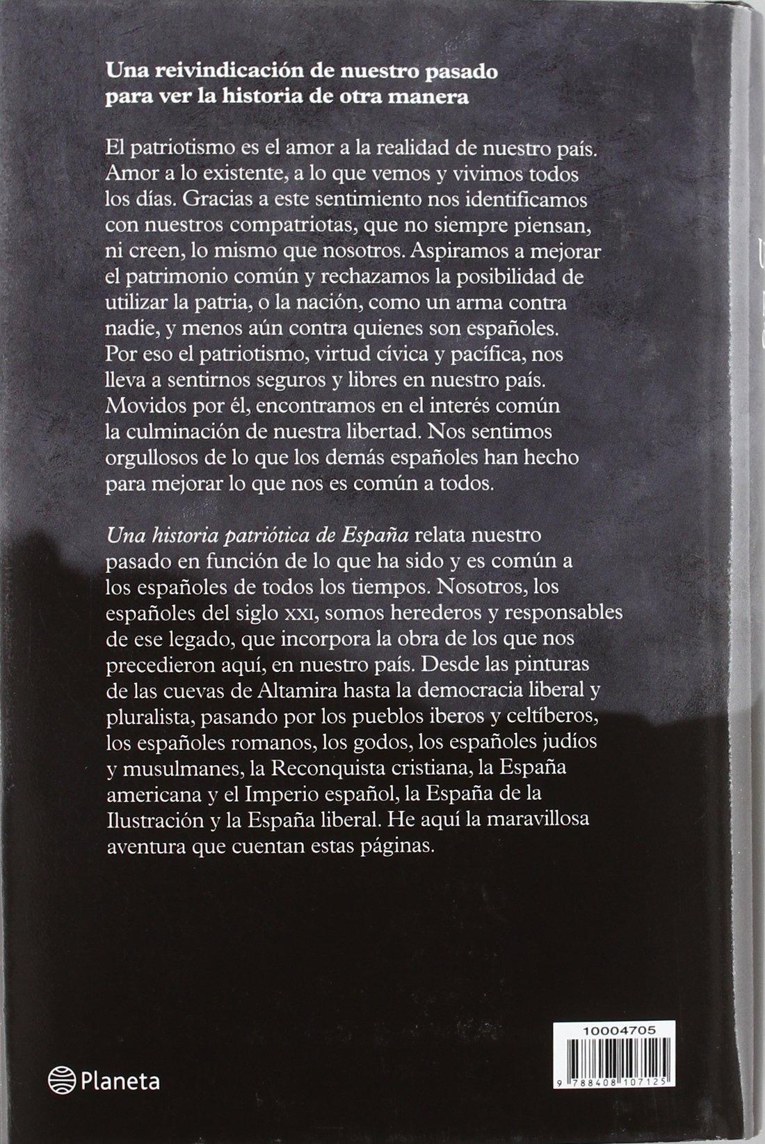 Una historia patriótica de España Fuera de colección: Amazon.es: Marco, José María: Libros