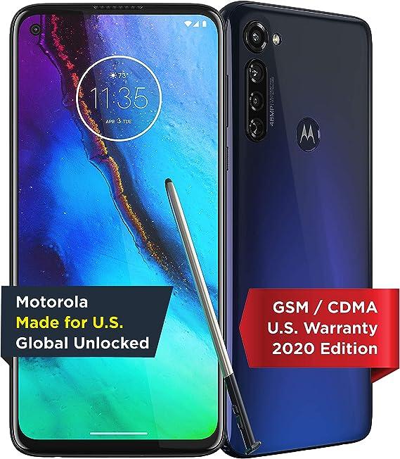 Moto G Stylus | Unlocked | Made for US by Motorola | 4/128GB | 48MP Camera | 202