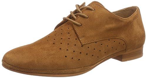 Ten Points New Toulouse, Zapatos de Cordones Brogue para Mujer, Rosa (Old Rose 810), 39 EU Ten Points