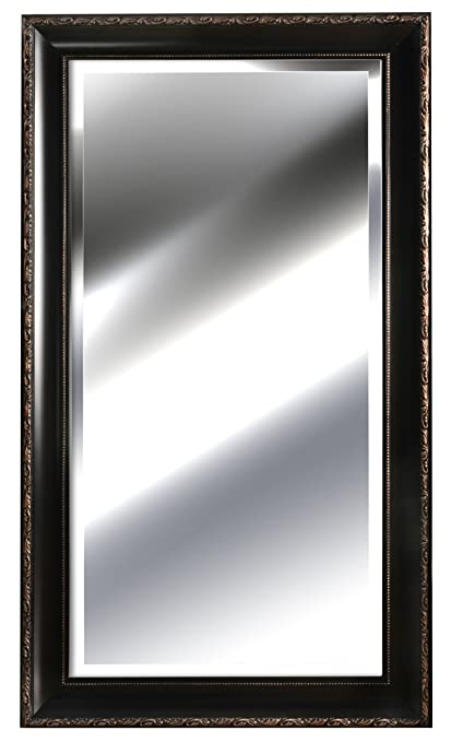 48 inch mirror 20 inch gallery solutions embossed bronze mirror 24 by 48inch amazoncom