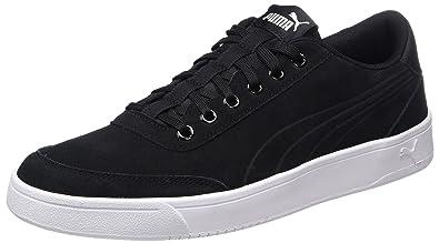 Puma Court Breaker SD, Sneakers Basses Mixte Adulte, Noir (Black-Black), 40.5 EU