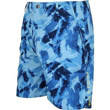 AFTCO M94 Tigerwater Mens Fishing Blue Camo Shorts at Amazon Men s Clothing  store  c0fc393de26