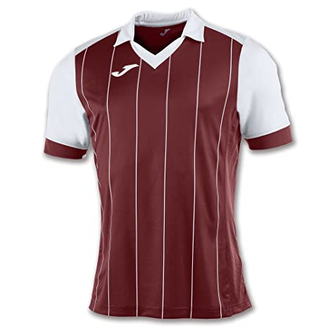 Joma Teamwear T-Shirt Grada Short Sleeves Bordeaux-White