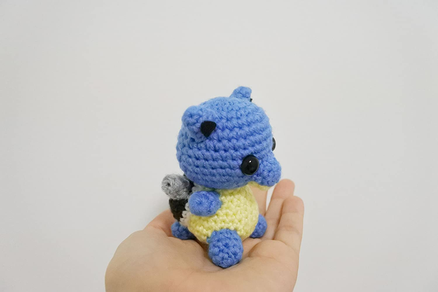 Amazon.com: Blastoise Amigurumi/Crochet Stuffed Doll (Pokemon ...