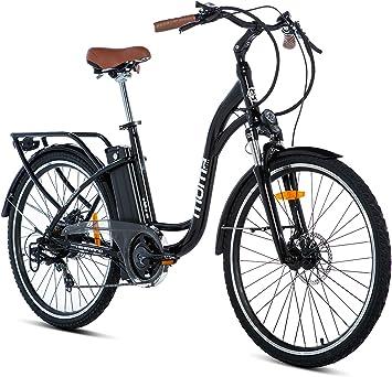 Moma Bikes E- Bike 26.2 Bicicleta Electrica de Paseo, 7 ...
