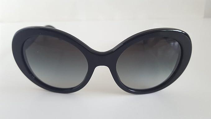 0edd3aeb1c46d NEW Chanel 5238 501 3c Black Full Frames Sunglasses 54mm  Amazon.ca ...