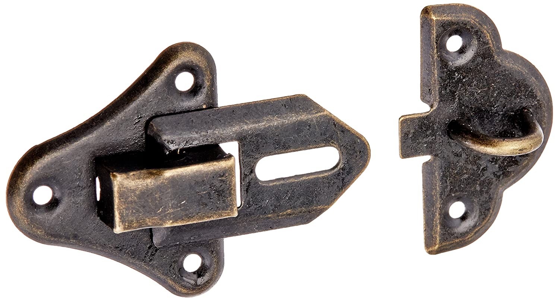 5 piezas de joyerí a de madera con Hardware caja aldaba para candado conjunto de tono Sourcingmap a14082700ux0039