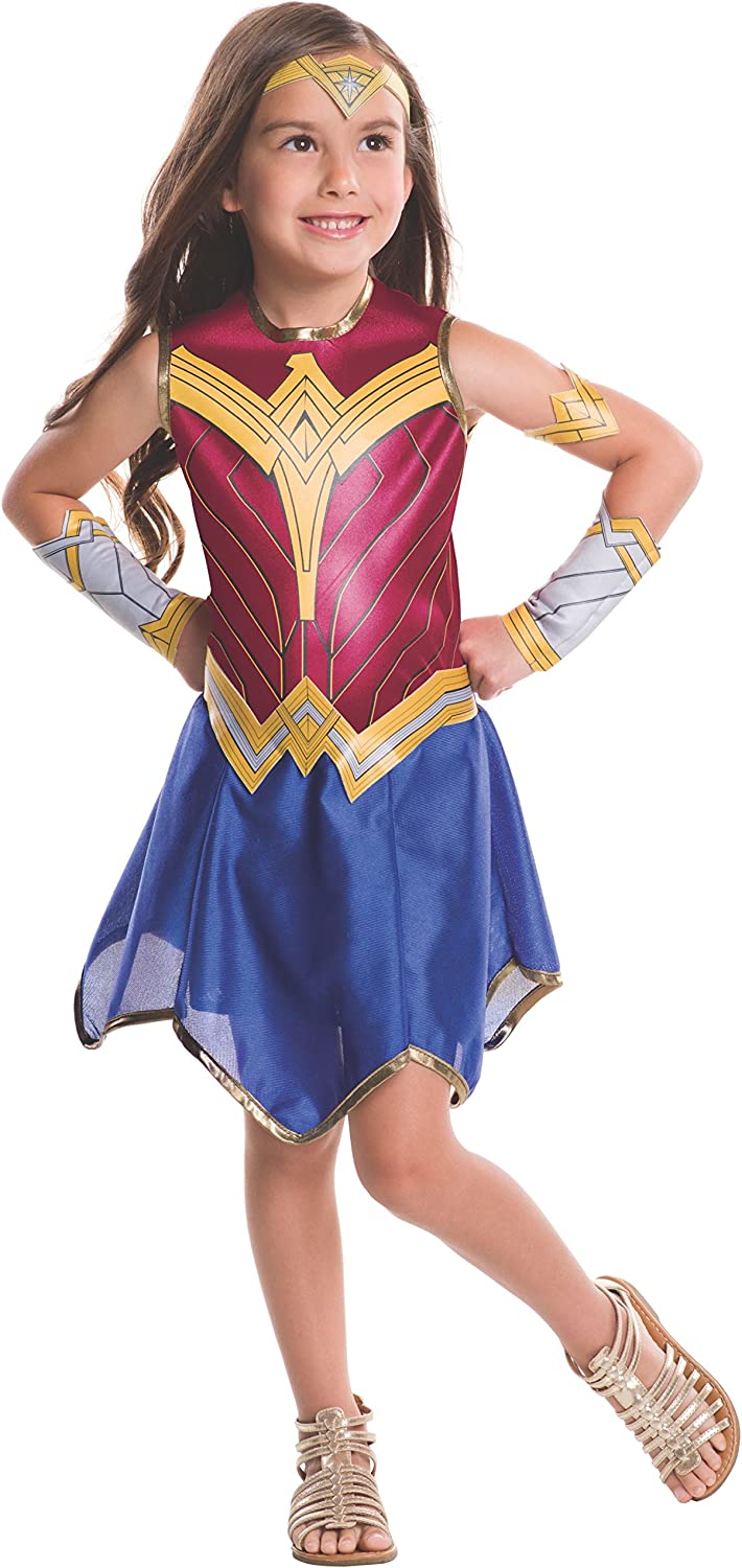 Child Dawn of Justice Wonder Woman Fancy Dress Costume Large 12-14