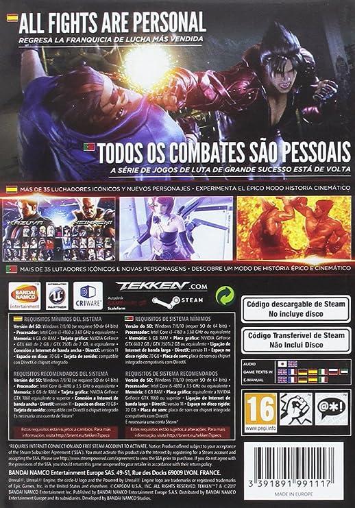 Tekken 7 - Standard Edition: PC: Amazon.es: Videojuegos