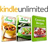 Incredibly Delicious Cookbook Bundle: Easy Soup, Salad and Casserole Recipes from the Mediterranean Region: Frugal Cooking on