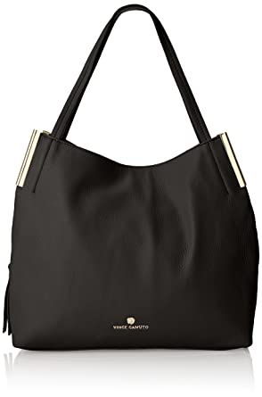 b487719e8a2a Amazon.com: Vince Camuto Tina Tote, Nero, One Size: Clothing