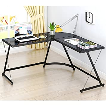 corner desk office. SHW L-Shaped Home Office Corner Desk